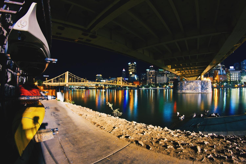 Kayak Rentals, Pittsburgh by Lee Hanyo