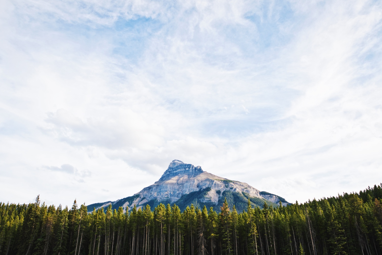 Pilot Mountain, Alberta by Lee Hanyo