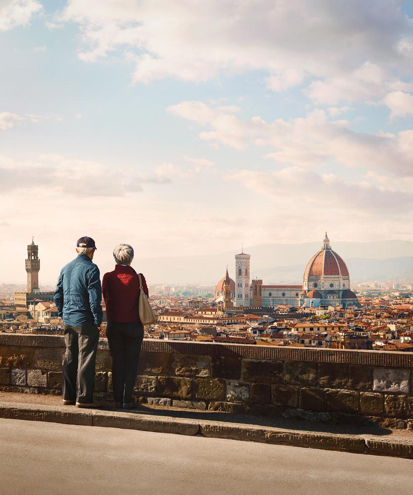 Visiting Florence by Jiří Lízler