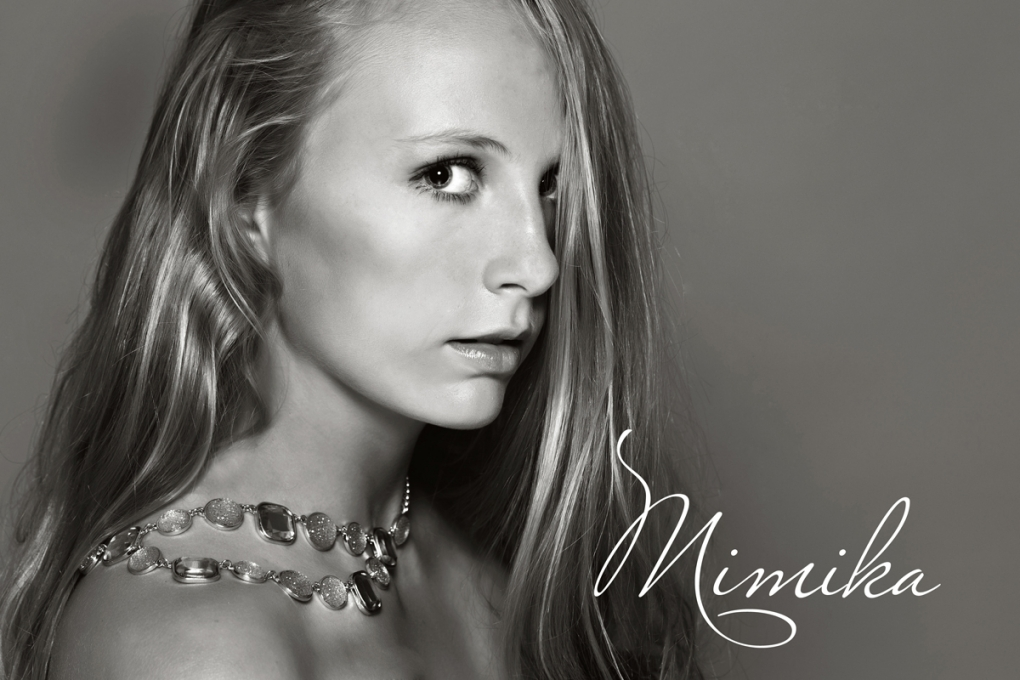 Jewelry model by Mimika Cooney