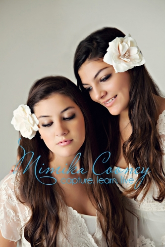 Beauty sisters by Mimika Cooney