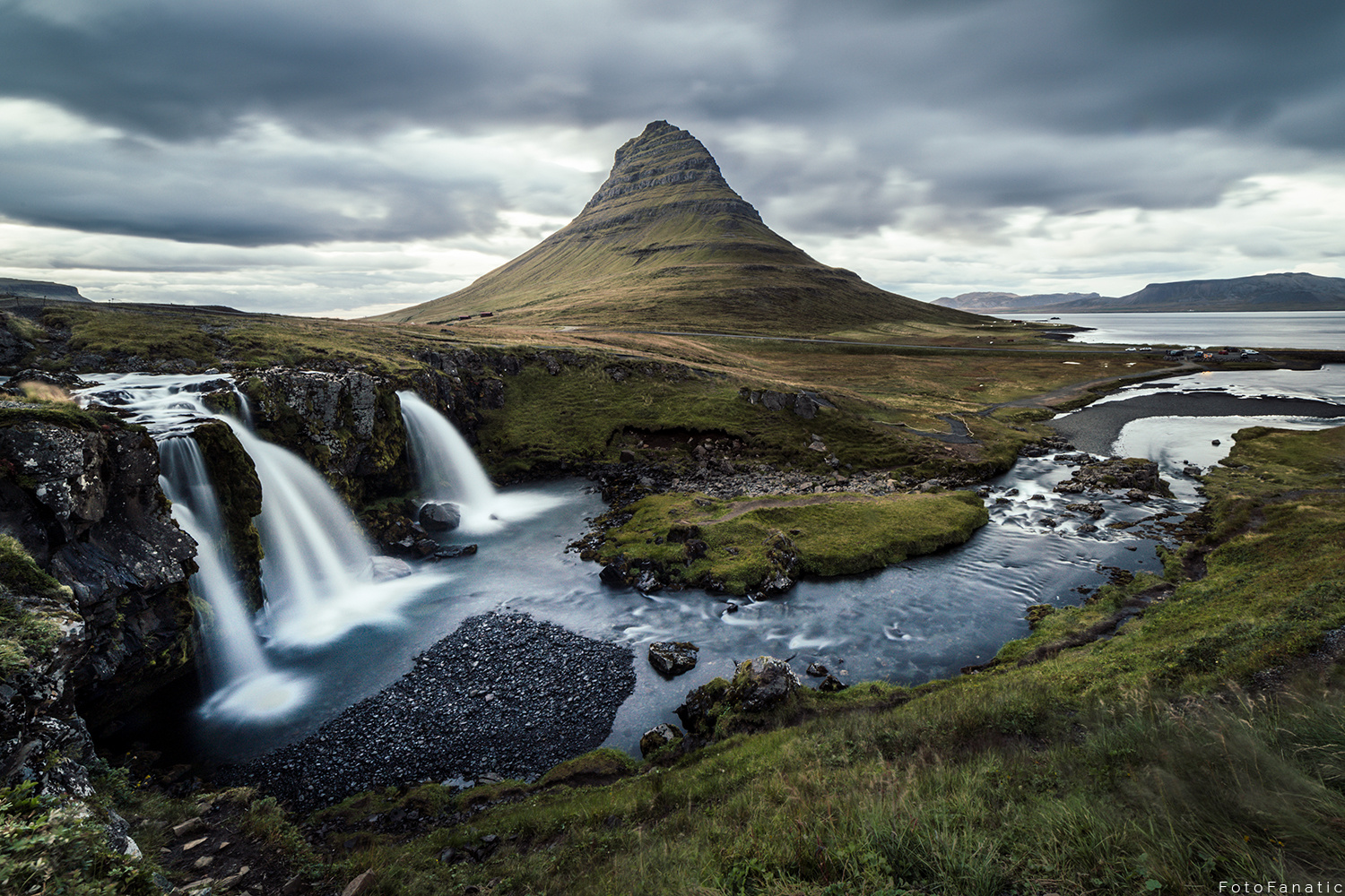 Moody Kirkjufell by Freek van den Driesschen