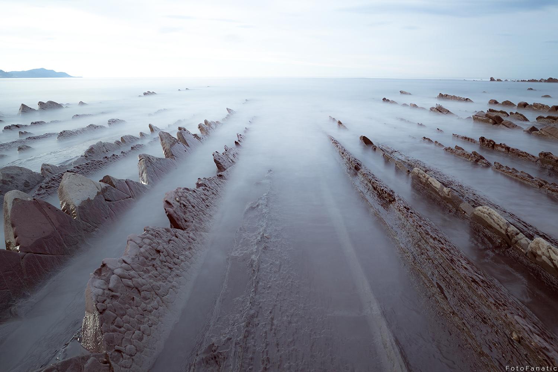 Flysch cliffs by Freek van den Driesschen