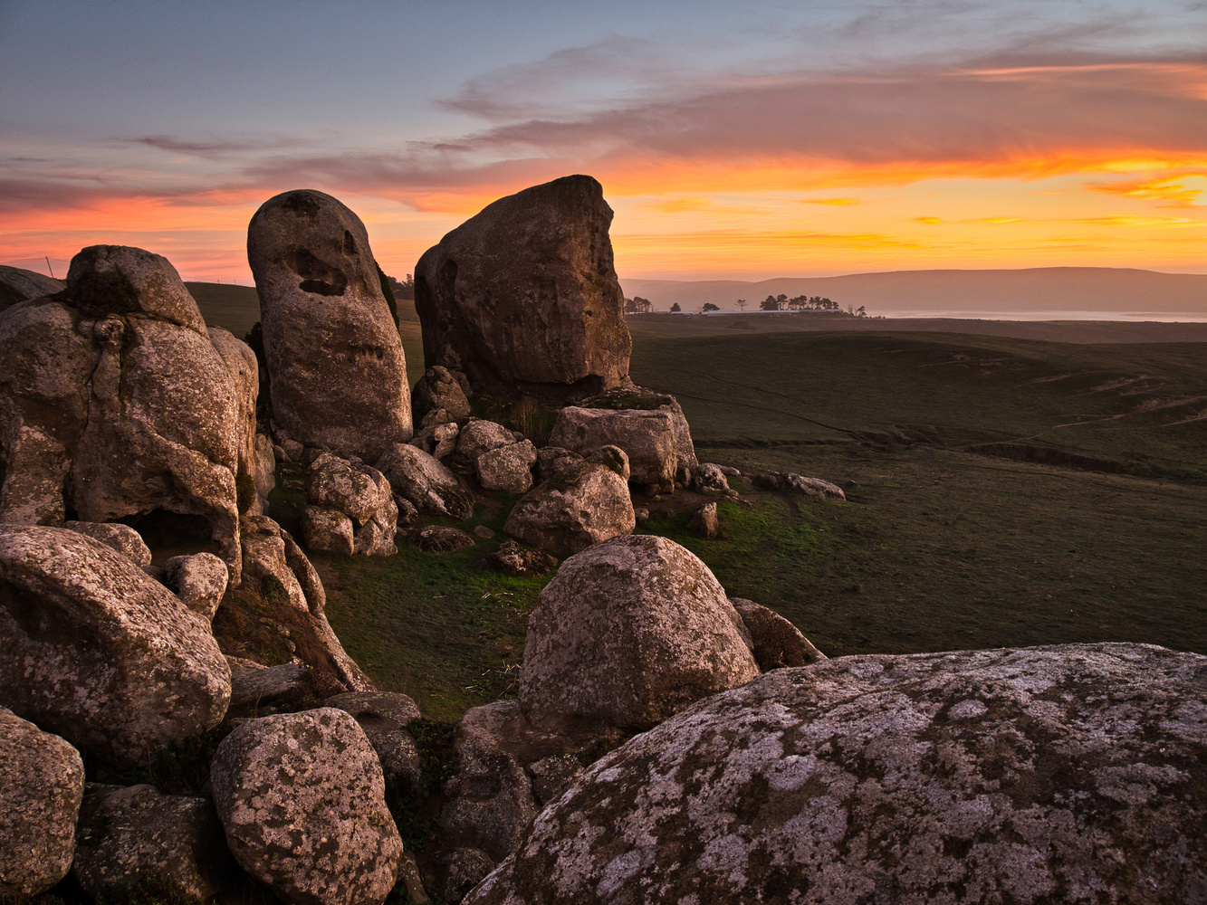 Elephant Rocks at Sunset. by David Medeiros