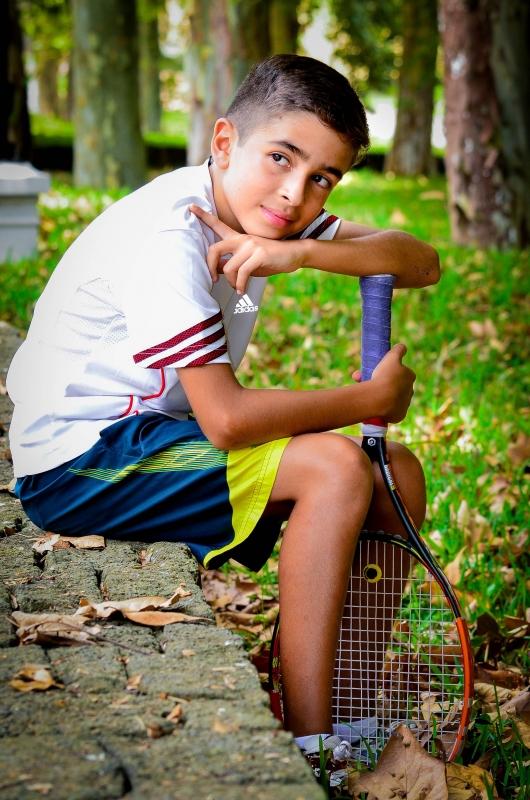 Mau my tennis champ by Antonio Juarez