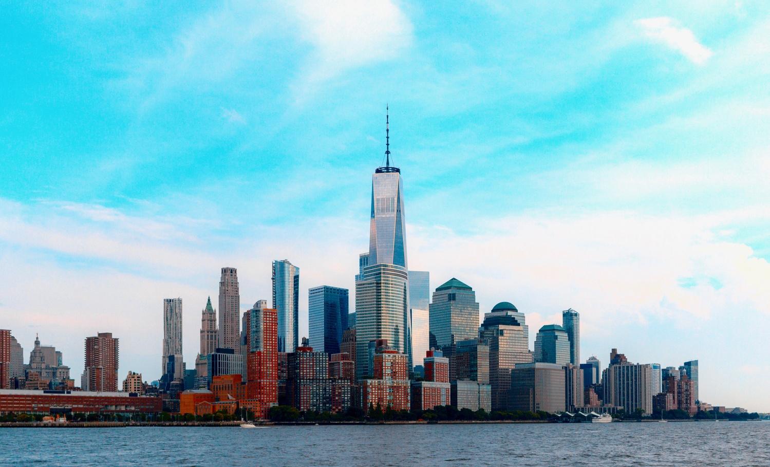 Downtown New York City by Kush Shah