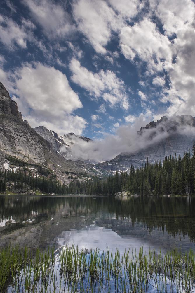 The Loch lake, Rocky Mountain National Park, Colorado by Zankar B Sanghavi