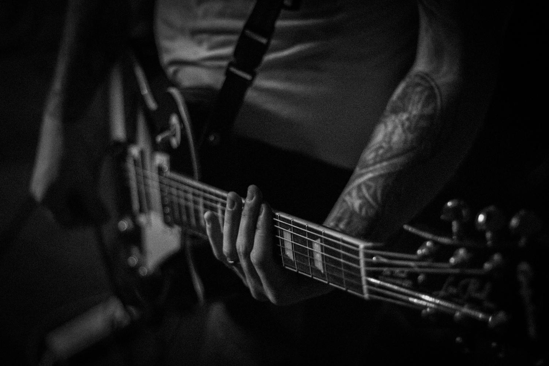 Guitarist by James Rilstone