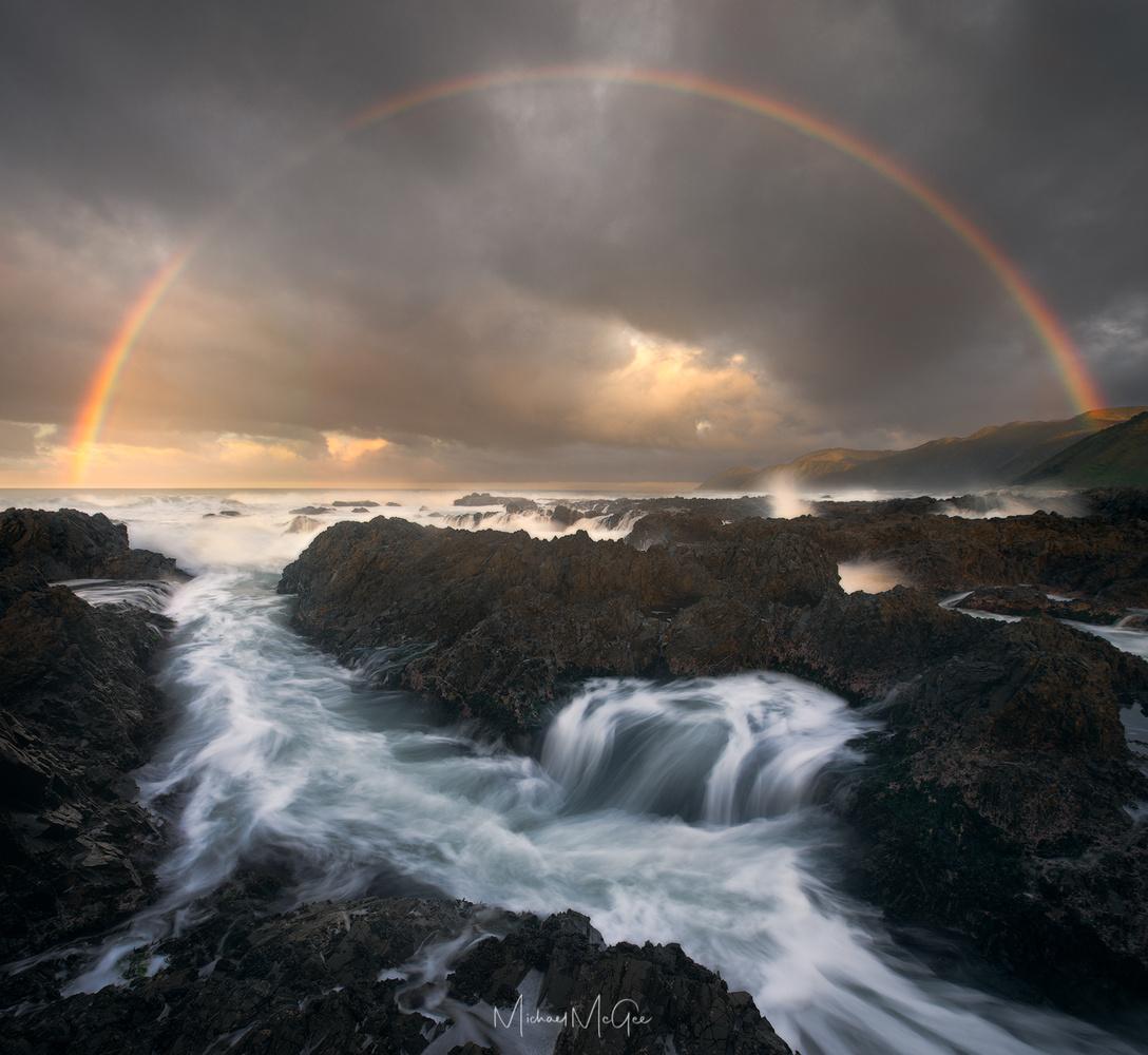 Rainbow Coast by Michael McGee