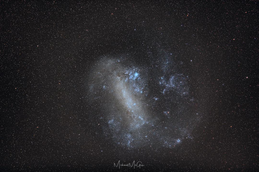 LMC - Large Magellanic Cloud by Michael McGee