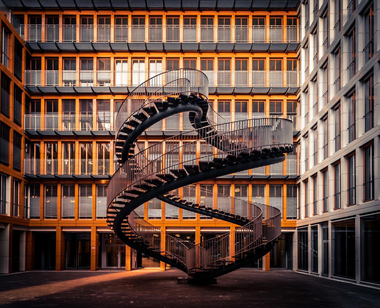 Infinite stairs by Alex K