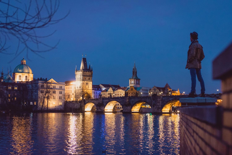 Travel Prague by Fritz Lanbin