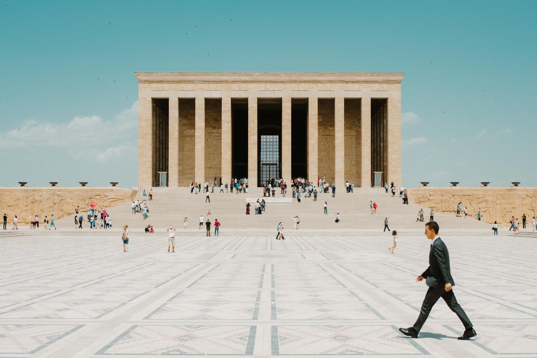 Ankara by Fritz Lanbin