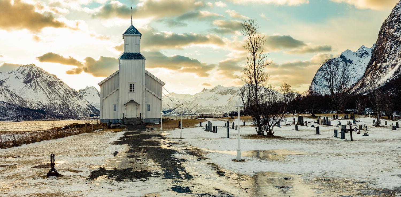 Gimsoy Church by Britt Strain