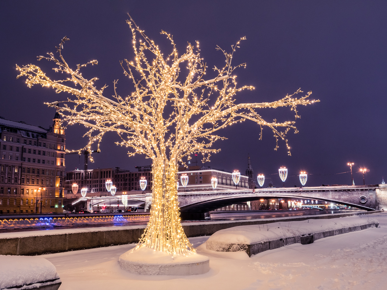 Lights of Moscow by Christopher Goddard