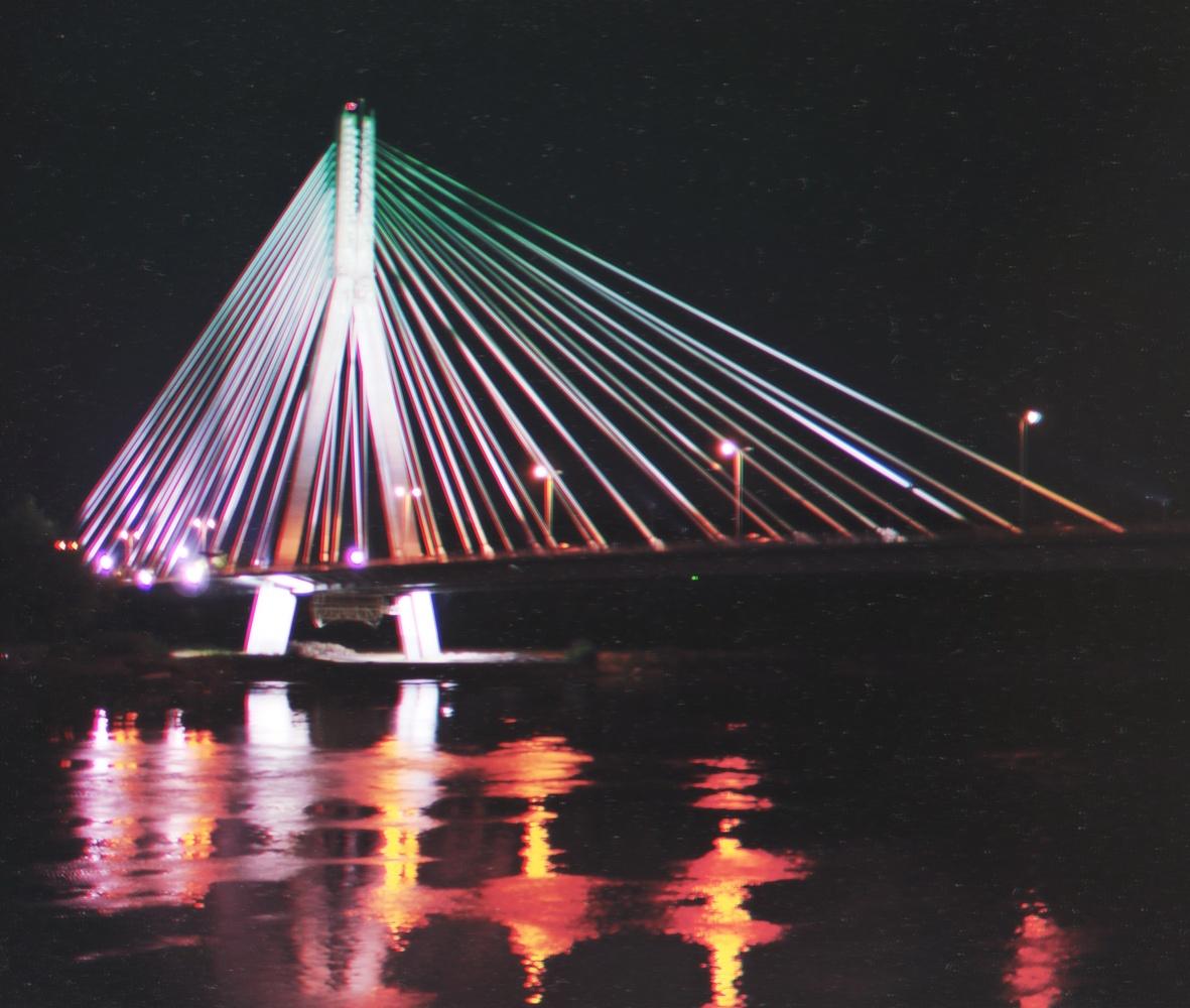 Space bridge by Stanislav Vlasov