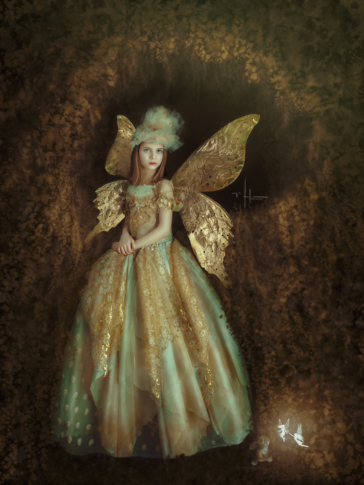 Forest Nymph by Nikki Harrison