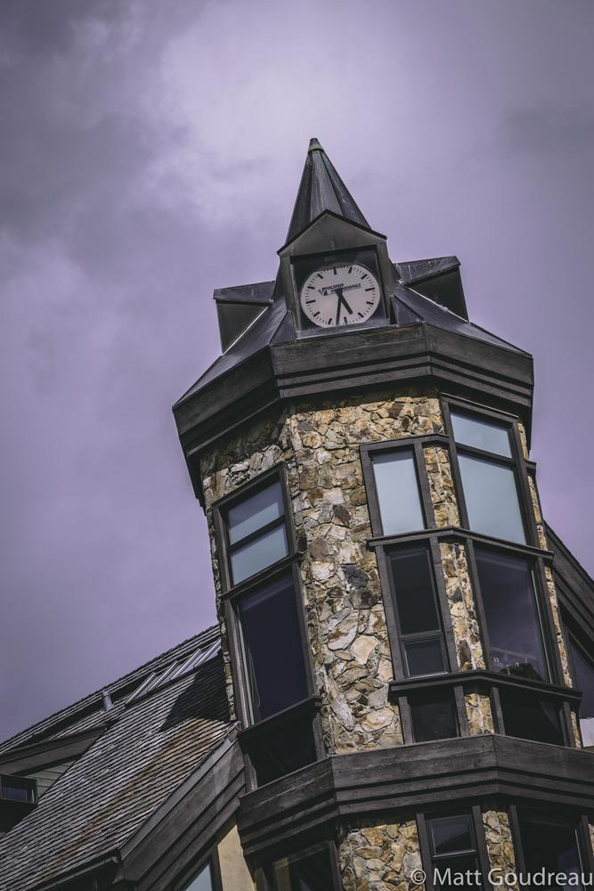 Clock Tower by Matt Goudreau