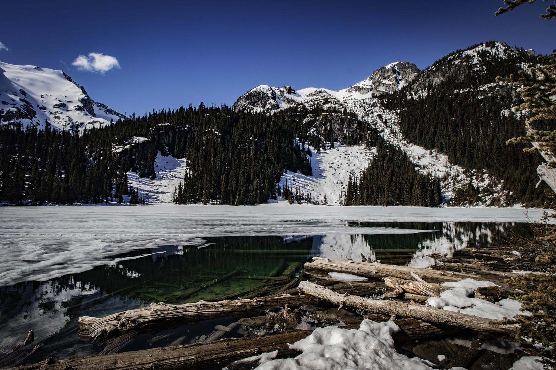 Frozen Lake by Matt Goudreau