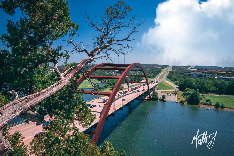 Austin 360 Bridge by Matt Goudreau