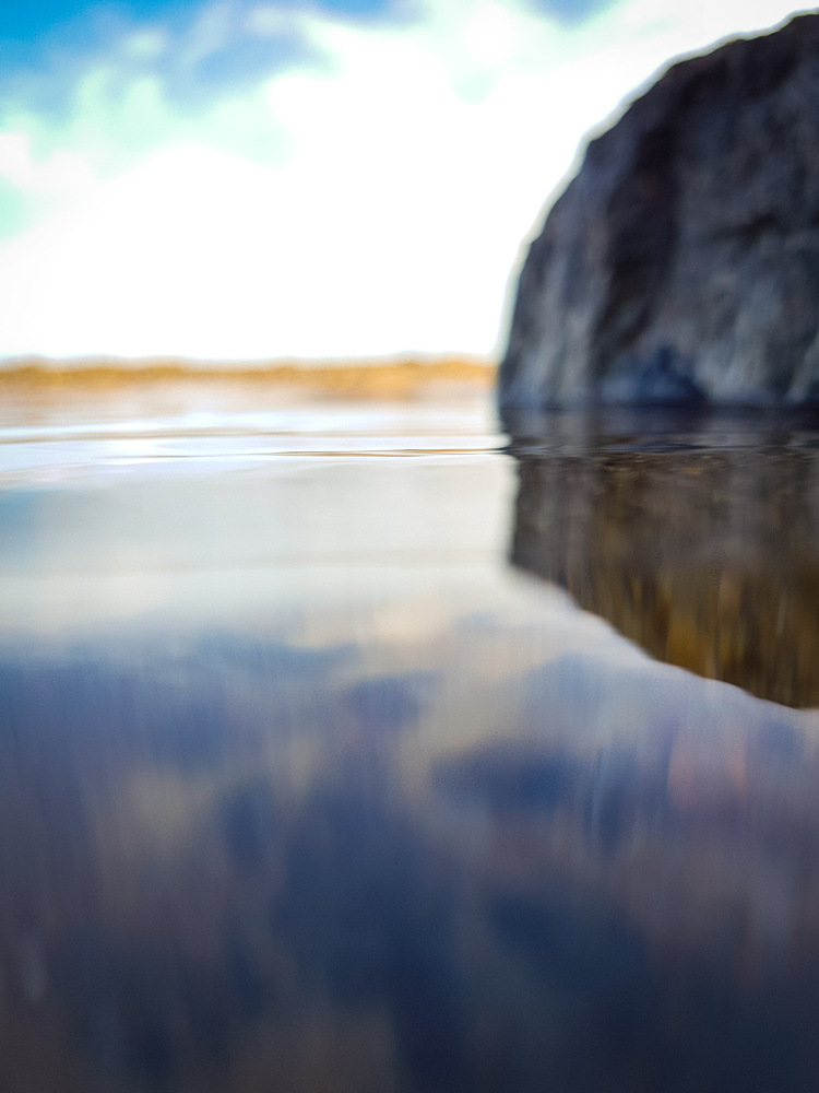 Blurred water by Harrison Carr
