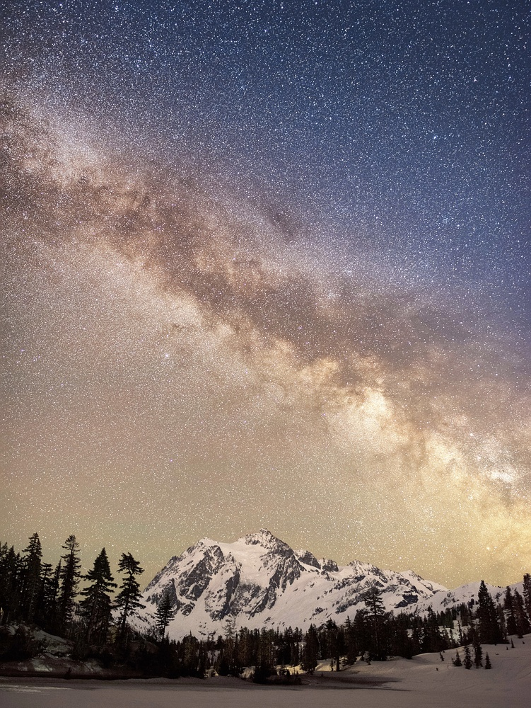 Shuksan Stars by John Vander Ploeg