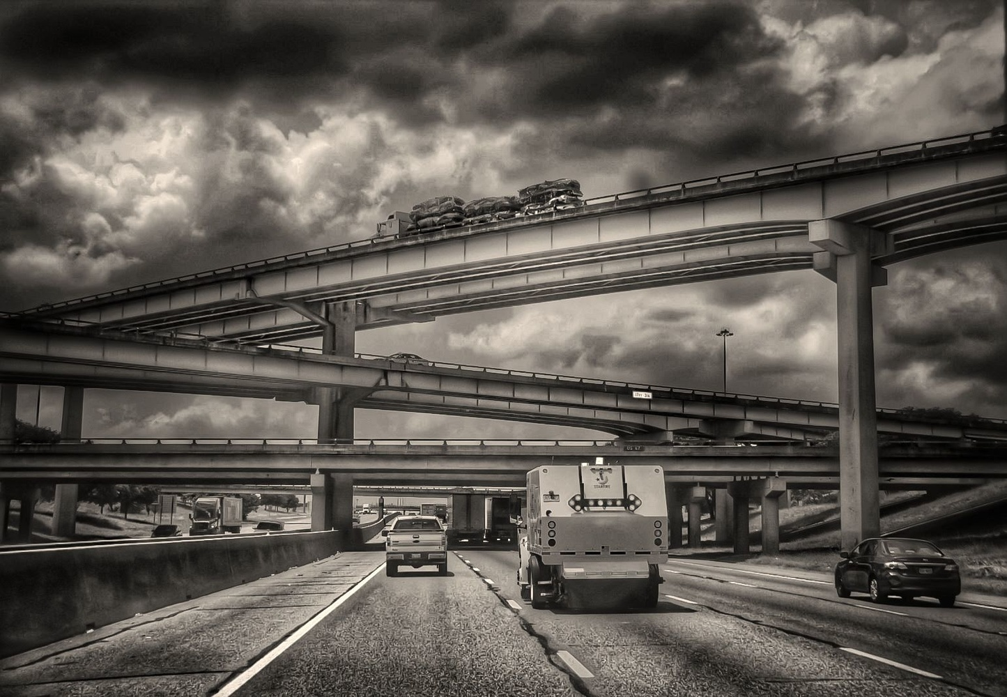 Stormy Highways by Bobby Wood