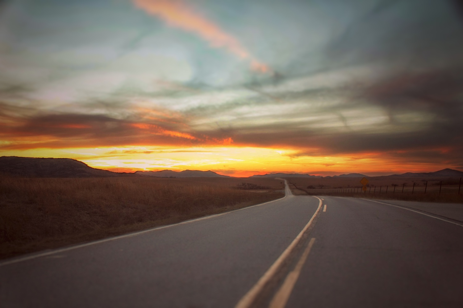 Sunset Drive by Bobby Wood