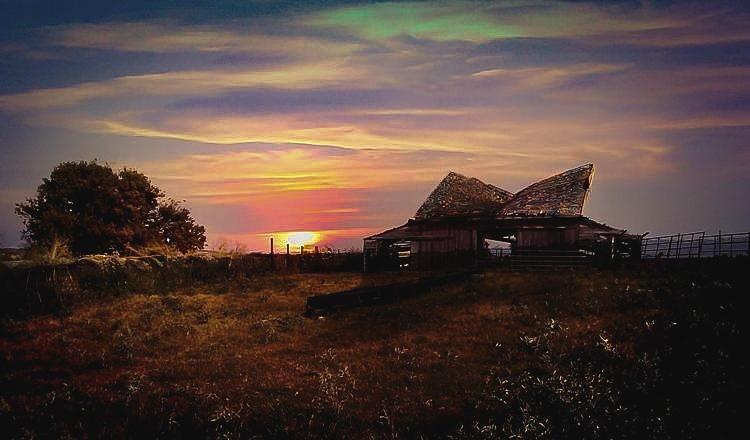 A Majestic Oklahoma Sunset by Bobby Wood