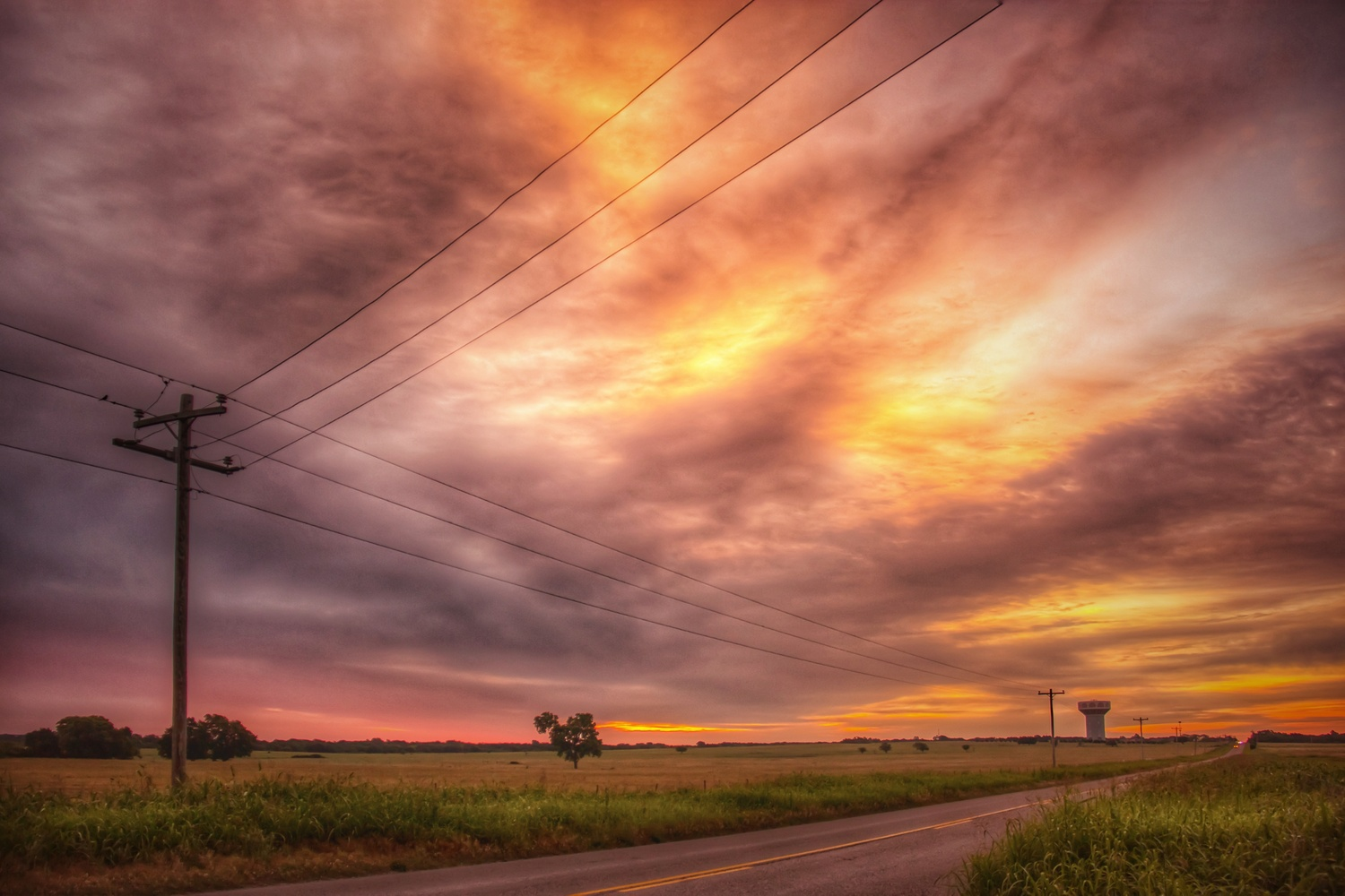 Sunrise Cloudscape by Bobby Wood