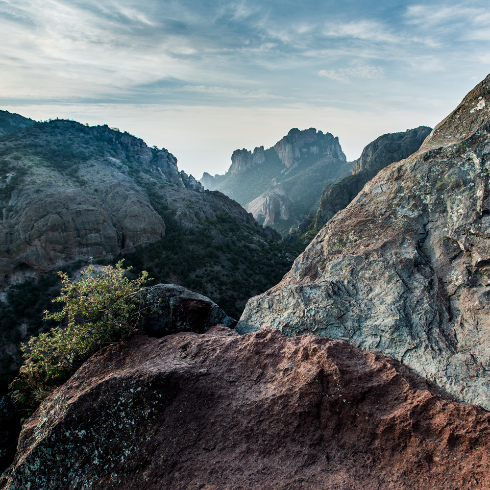 Chisos Mountain Sunrise by A B