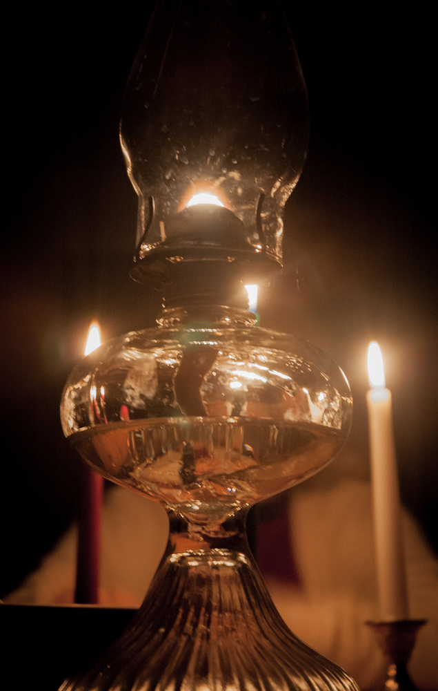 Kerosene Lamp by A B