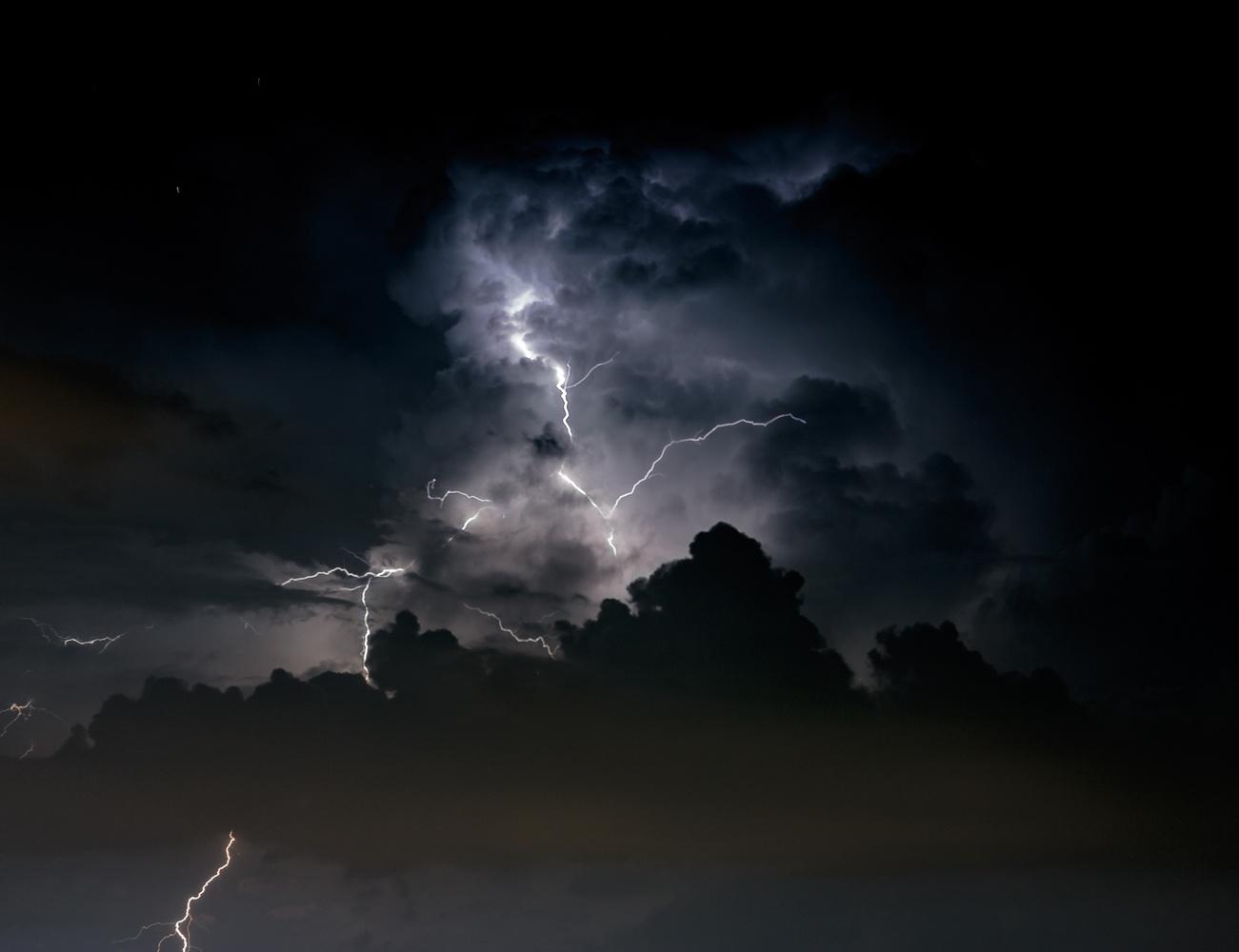 Dark Clouds Gather by Dominique Feliziani