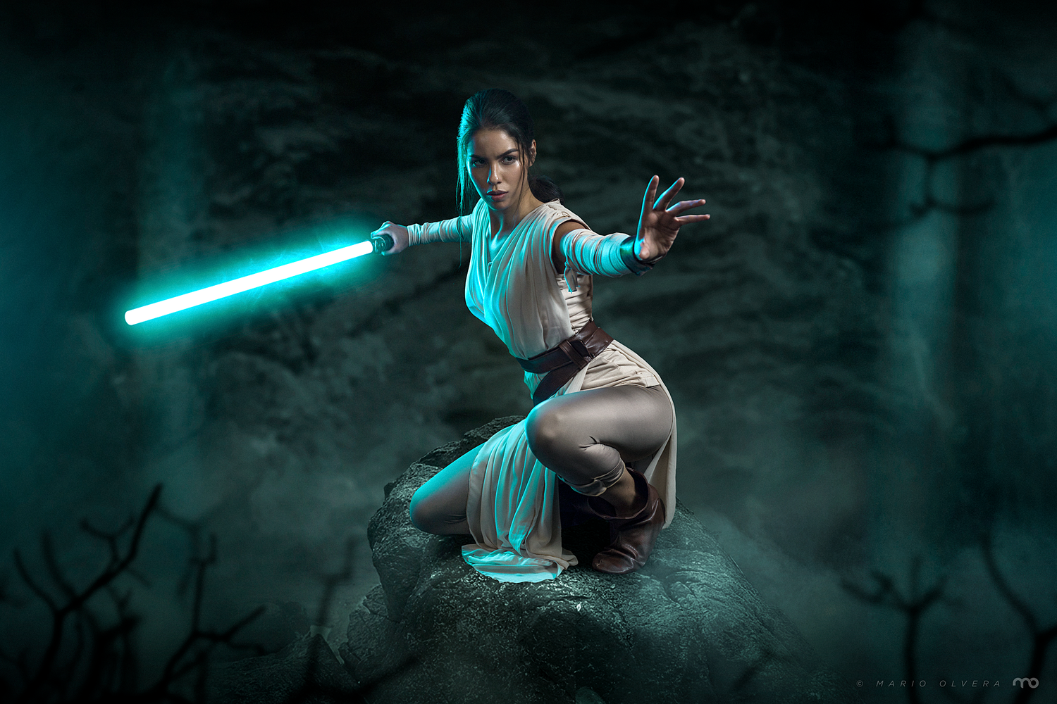 May the force be with you by Mario Olvera