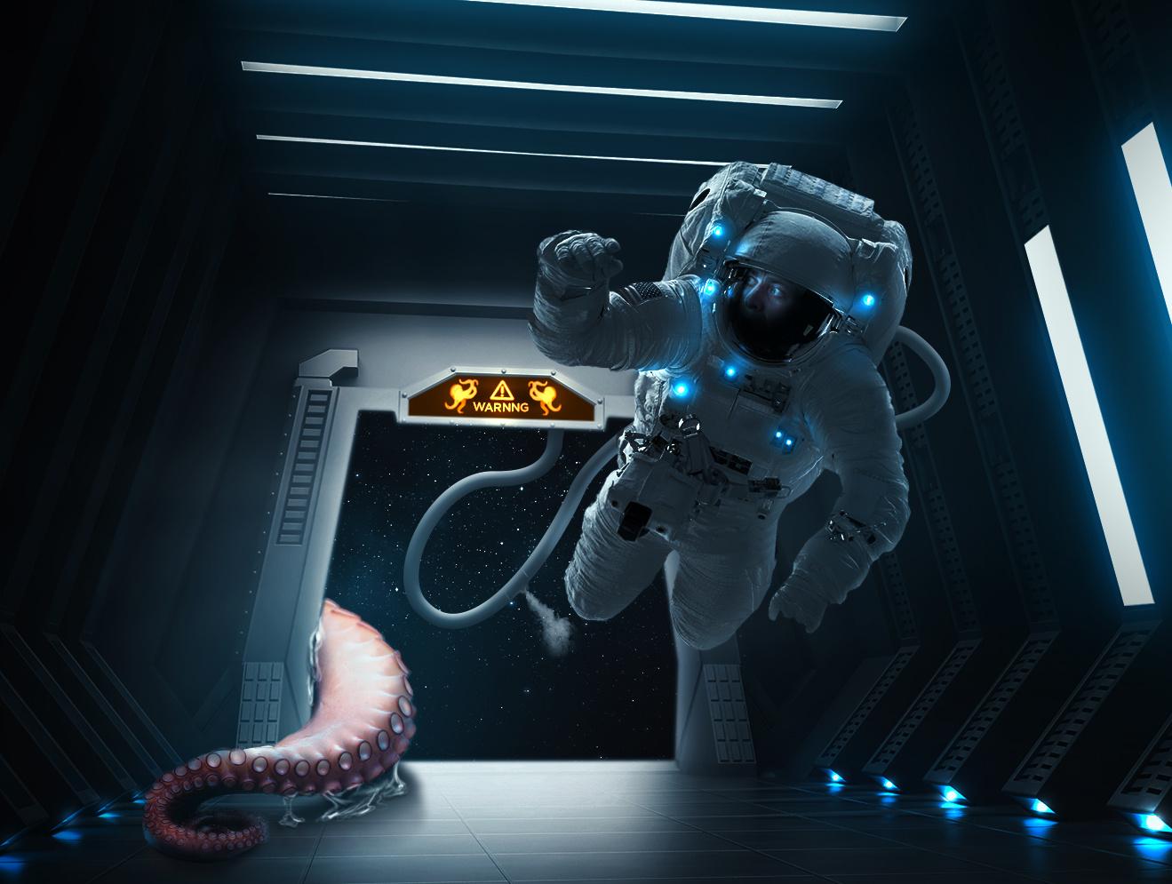 Space Sushi by Mario Olvera