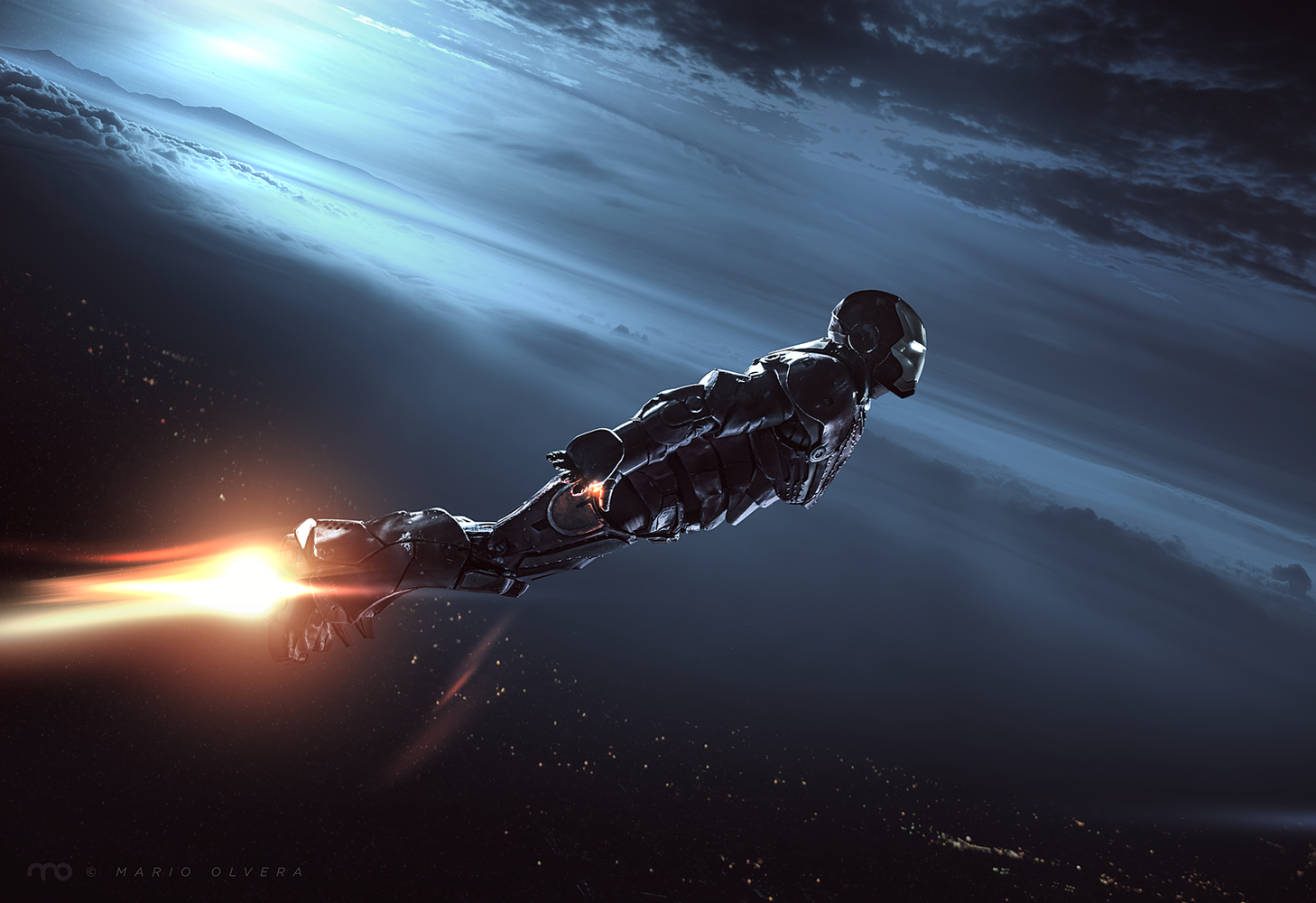 Jarvis, take me home...  by Mario Olvera