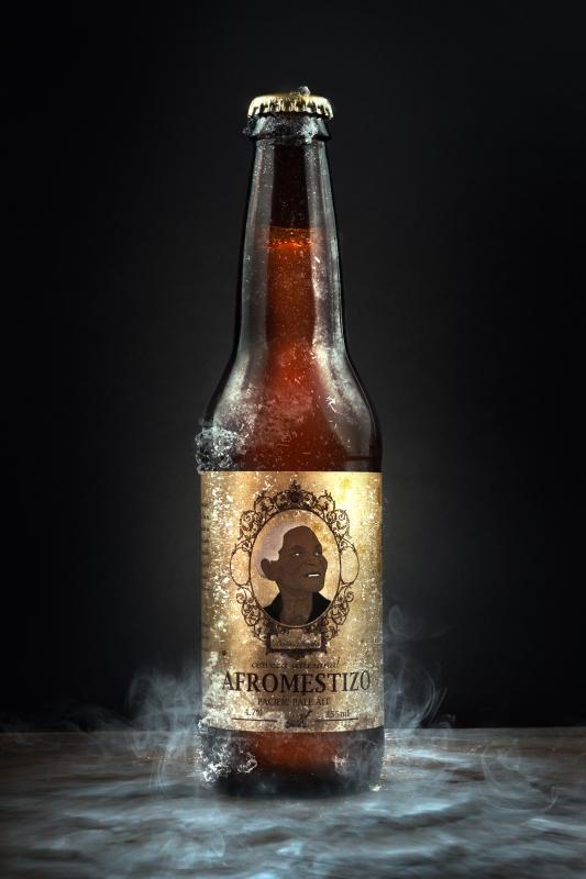 Afromestizo beer by Mario Olvera