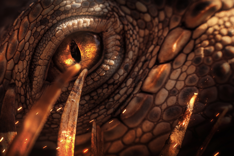 Reptilians are watching... by Mario Olvera