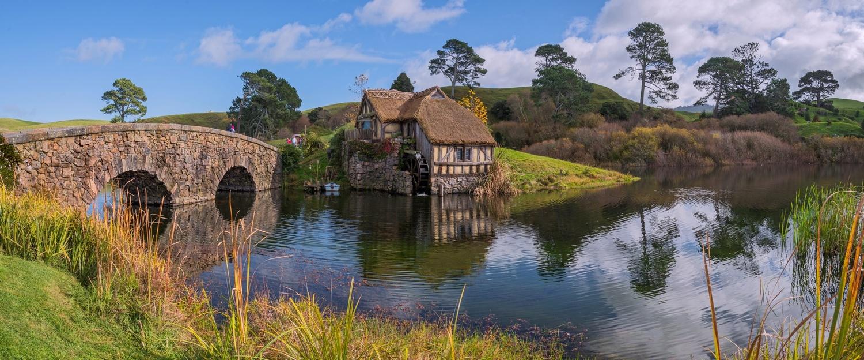 Bridge & Wheel House, Hobbiton, New Zealand by Shane Smith