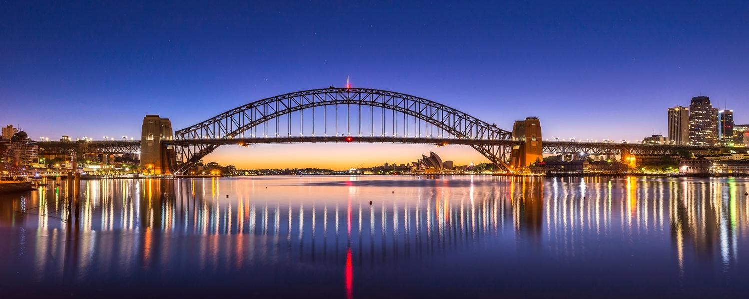 Sydney Harbour Bridge Sunrise by Shane Smith