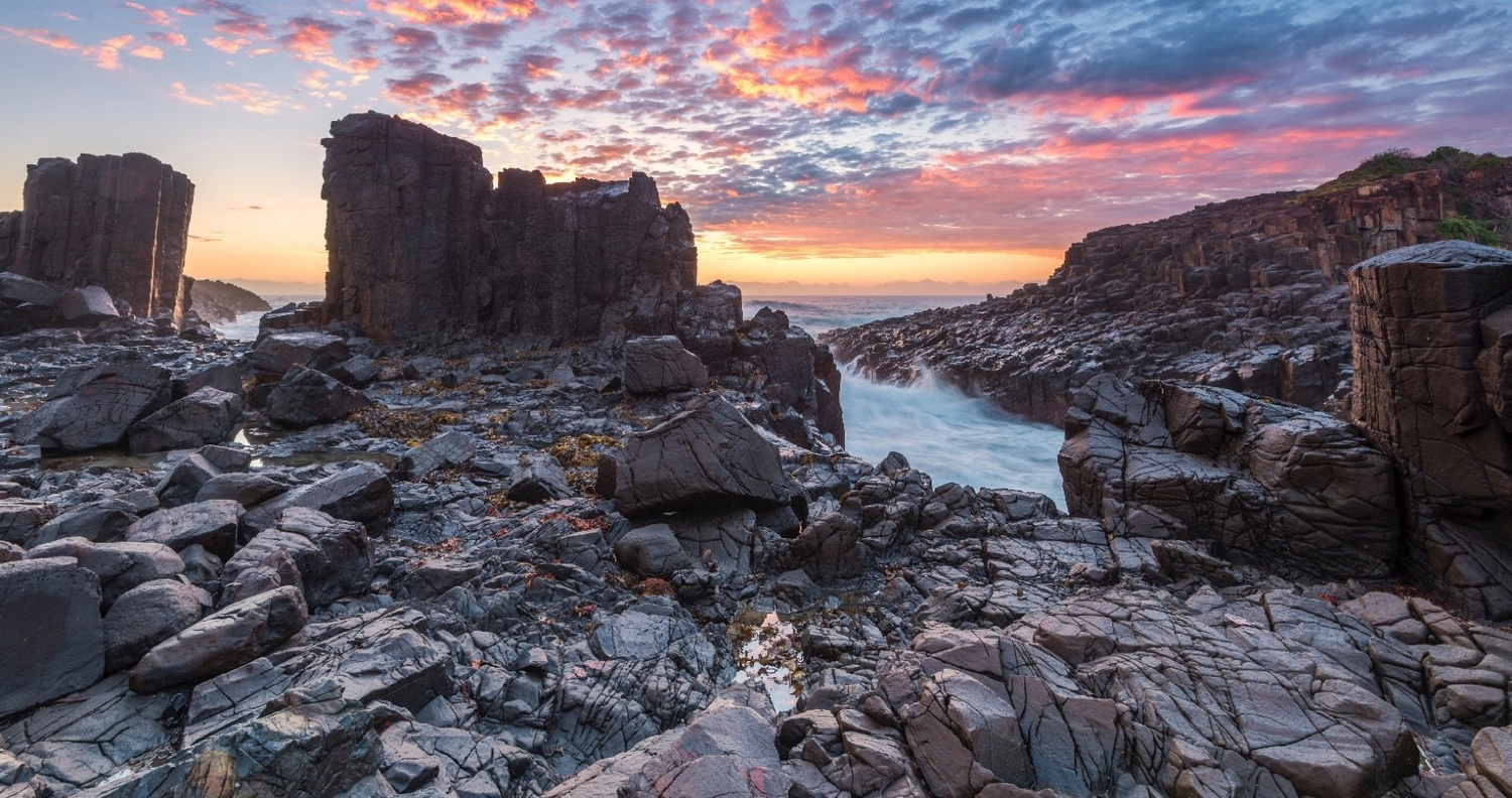 Alien World: Old Bombo Quarry by Shane Smith