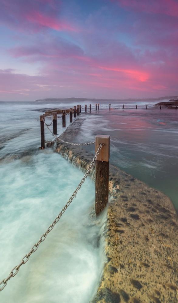 Sunrise At Mahon Pool by Shane Smith