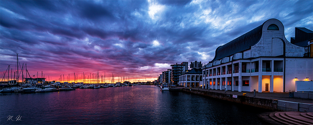 Scandinavian Sunset by Michael Riehl