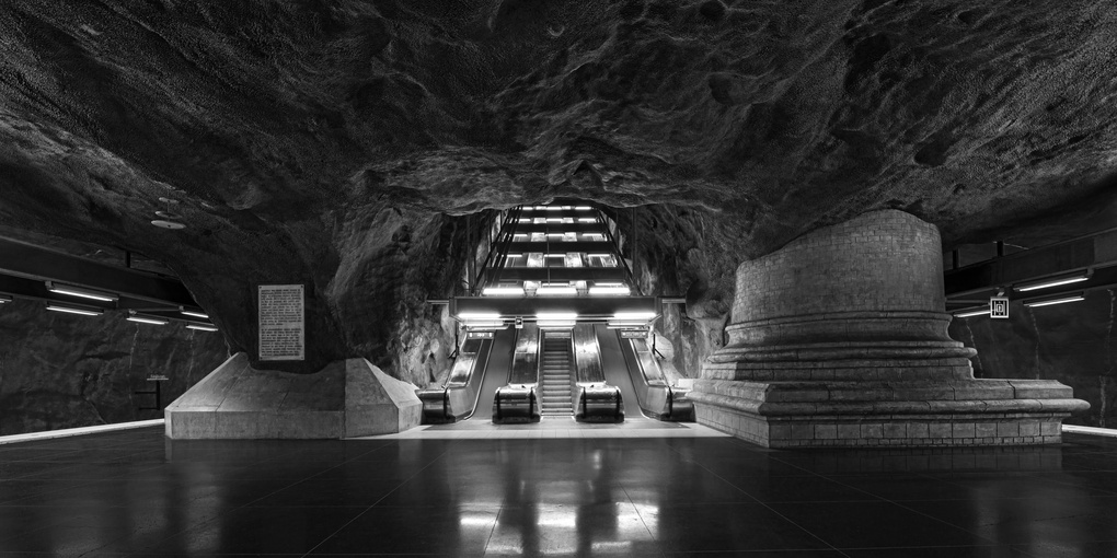 Subterranean Journey by Michael Riehl