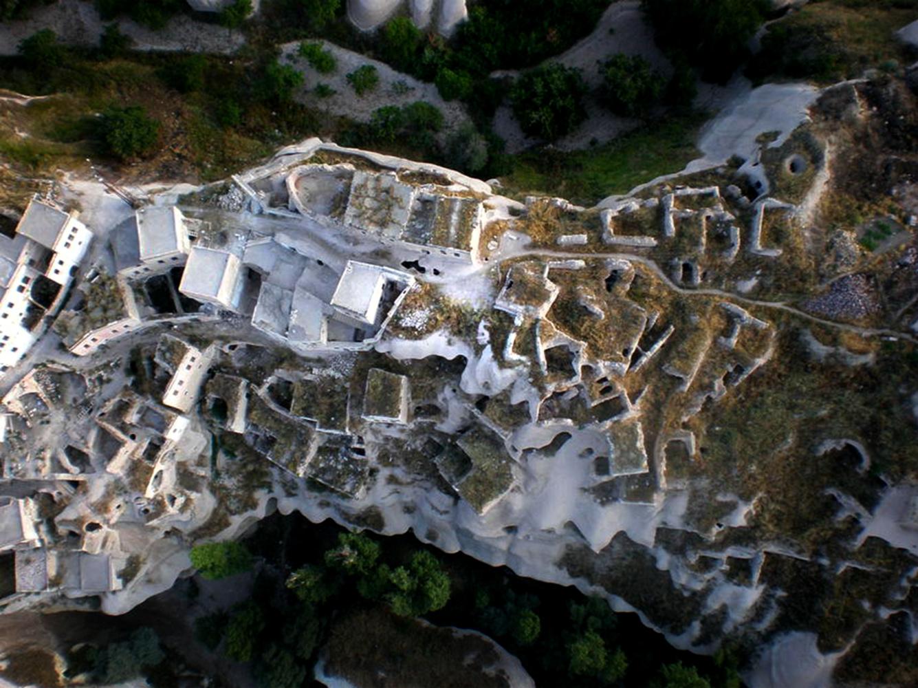 Abandoned Town in Cappadocia by Lauren Perwas