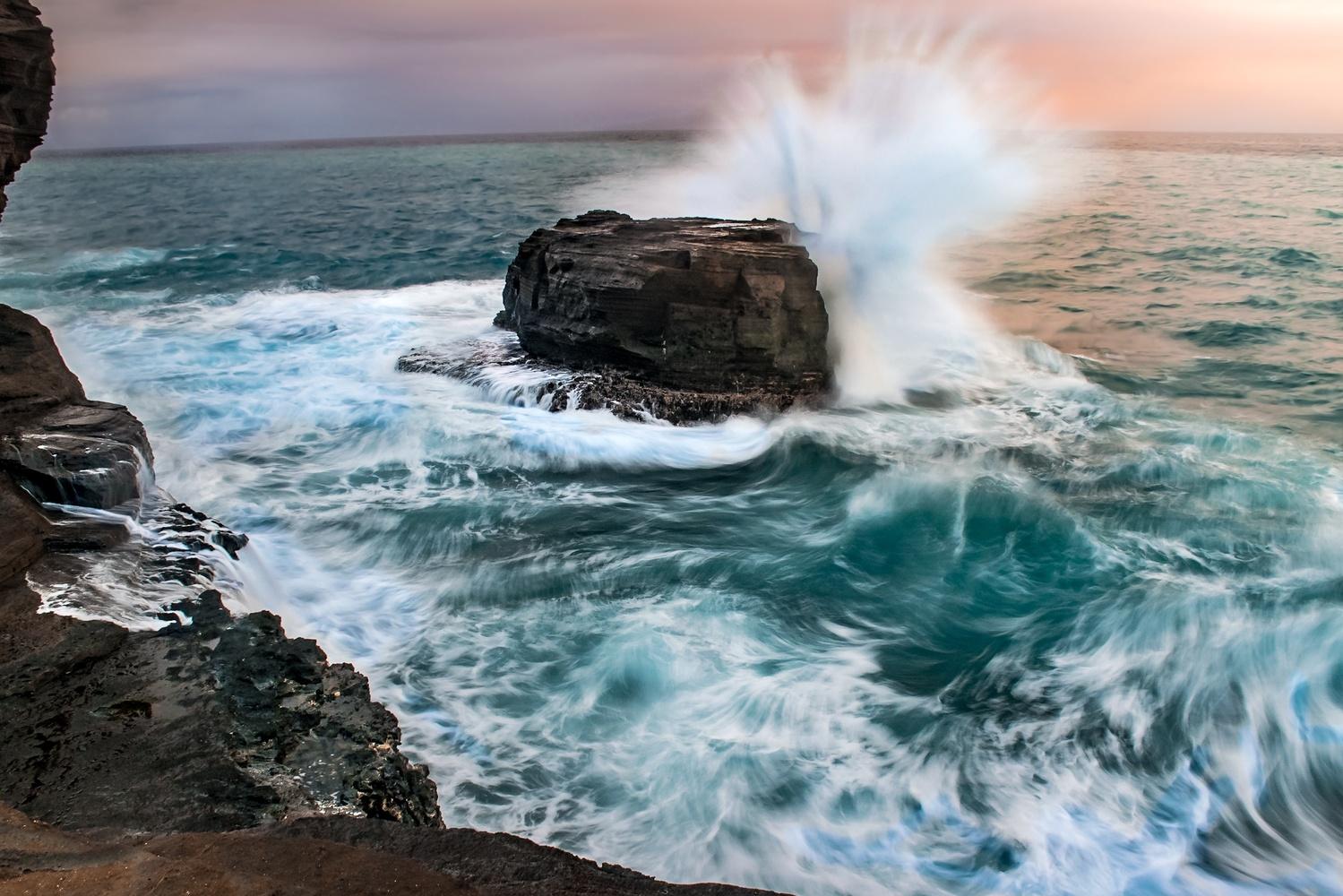 Crashing Waves by Johnathan Nichols