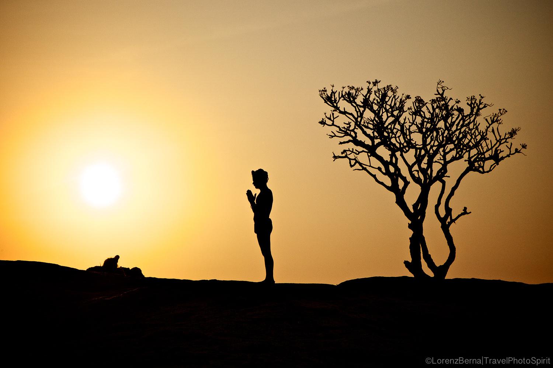 Sunrise Puja by Lorenz Berna