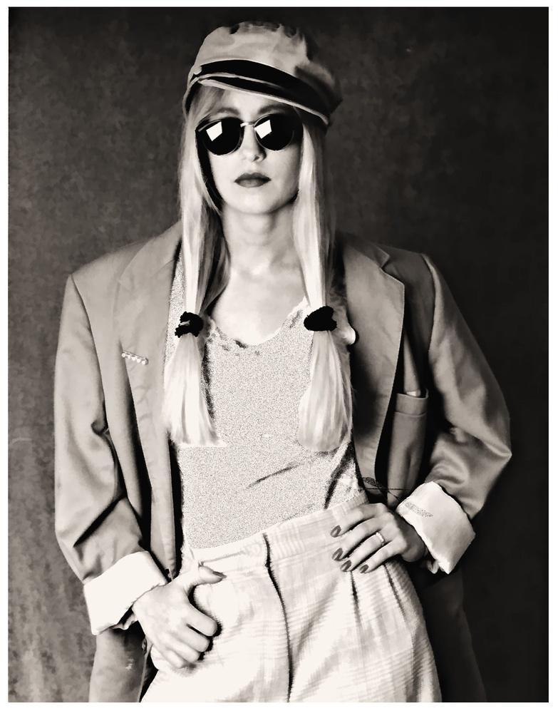 B&W Fashion Model Portfolio by JAMES FLACK