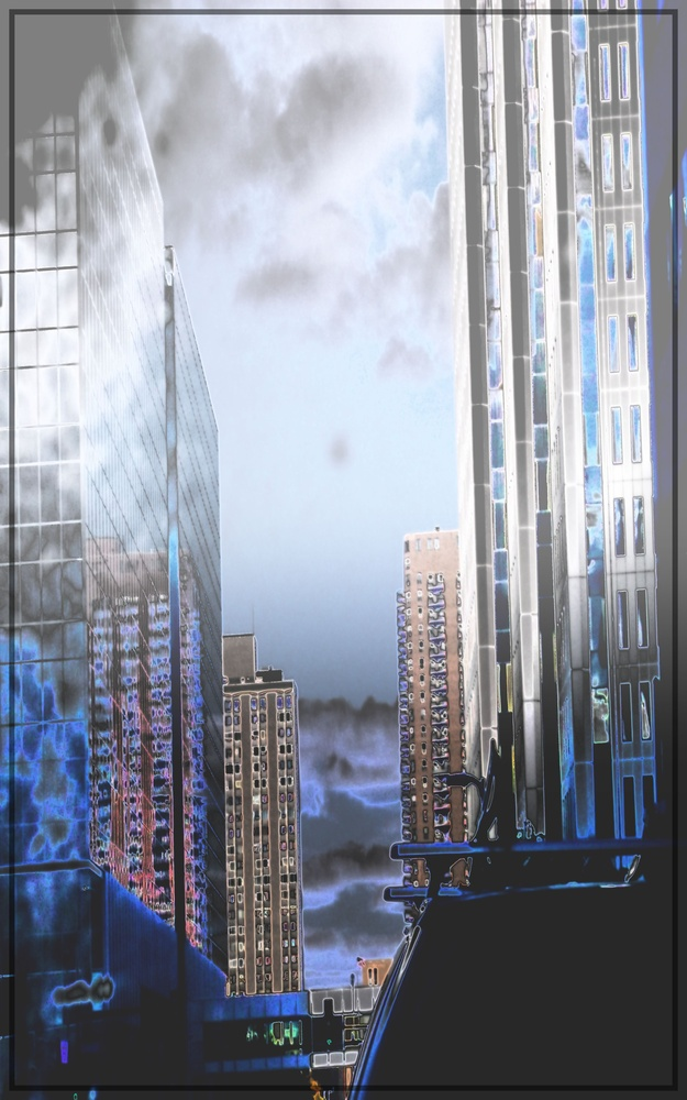 Steel Canyon in an Urban Landscape by JAMES FLACK