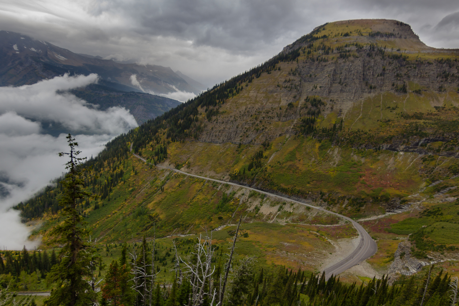 Going-to-the-Sun Road by Dave Zeldin